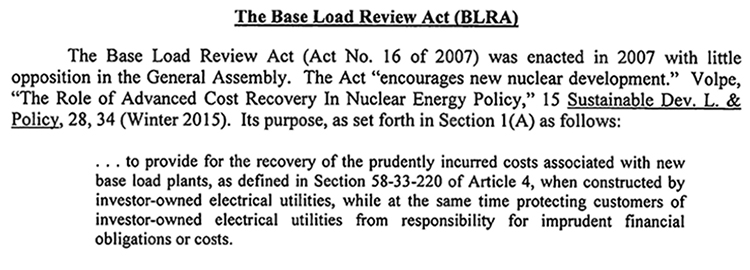 Base Load Review Act - 1
